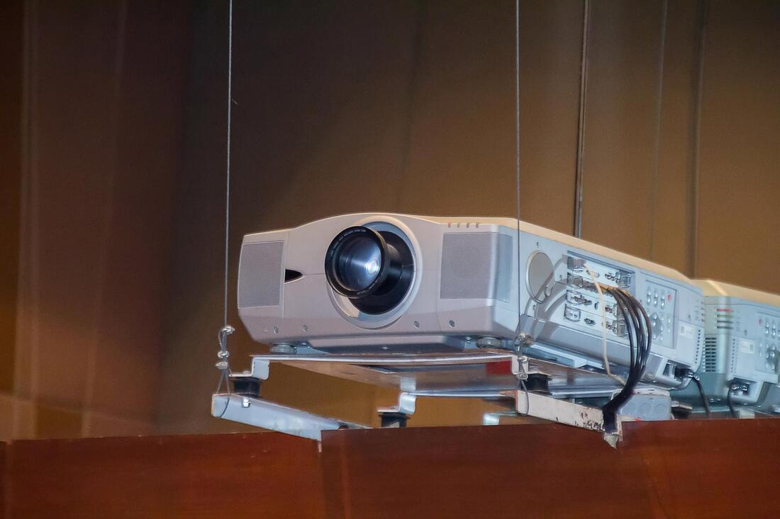 projector installation when done